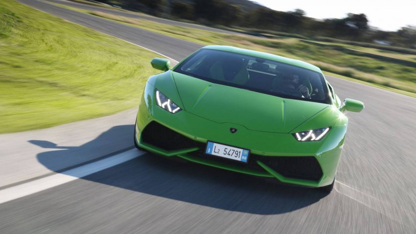 Der Lamborghini Huracan