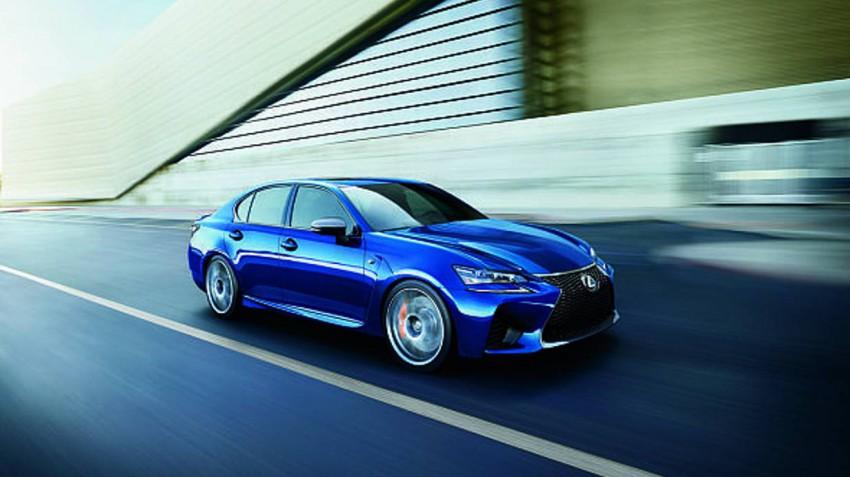 Der Lexus GS-F. Bild (c) Lexus