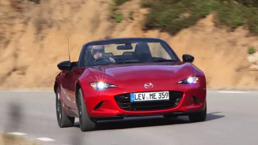 Das ist der erste Test des neuen Mazda MX-5