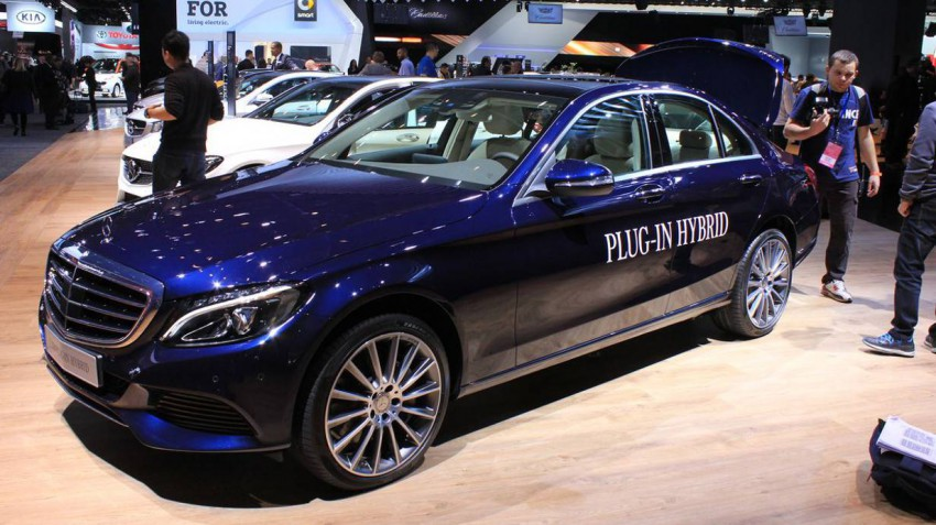 Mercedes C Plug-in-Hybrid