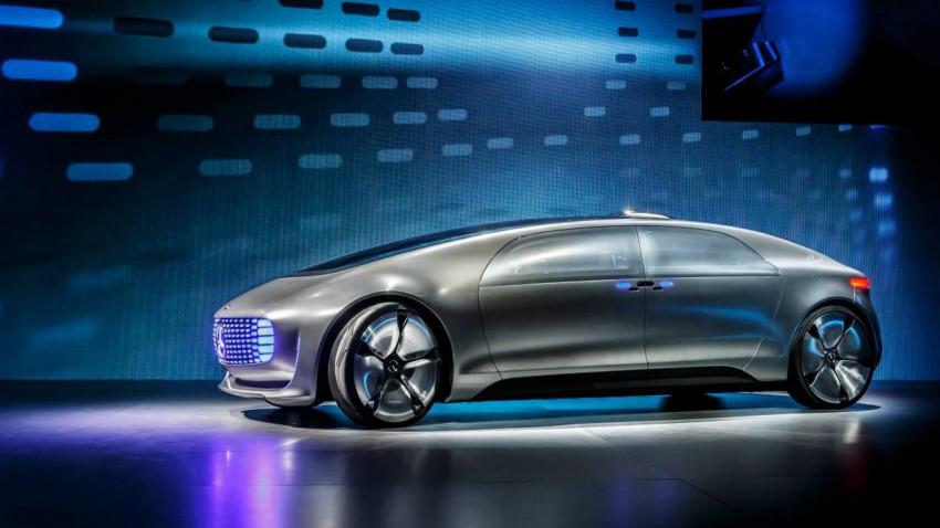 Der futuristische Mercedes F 015