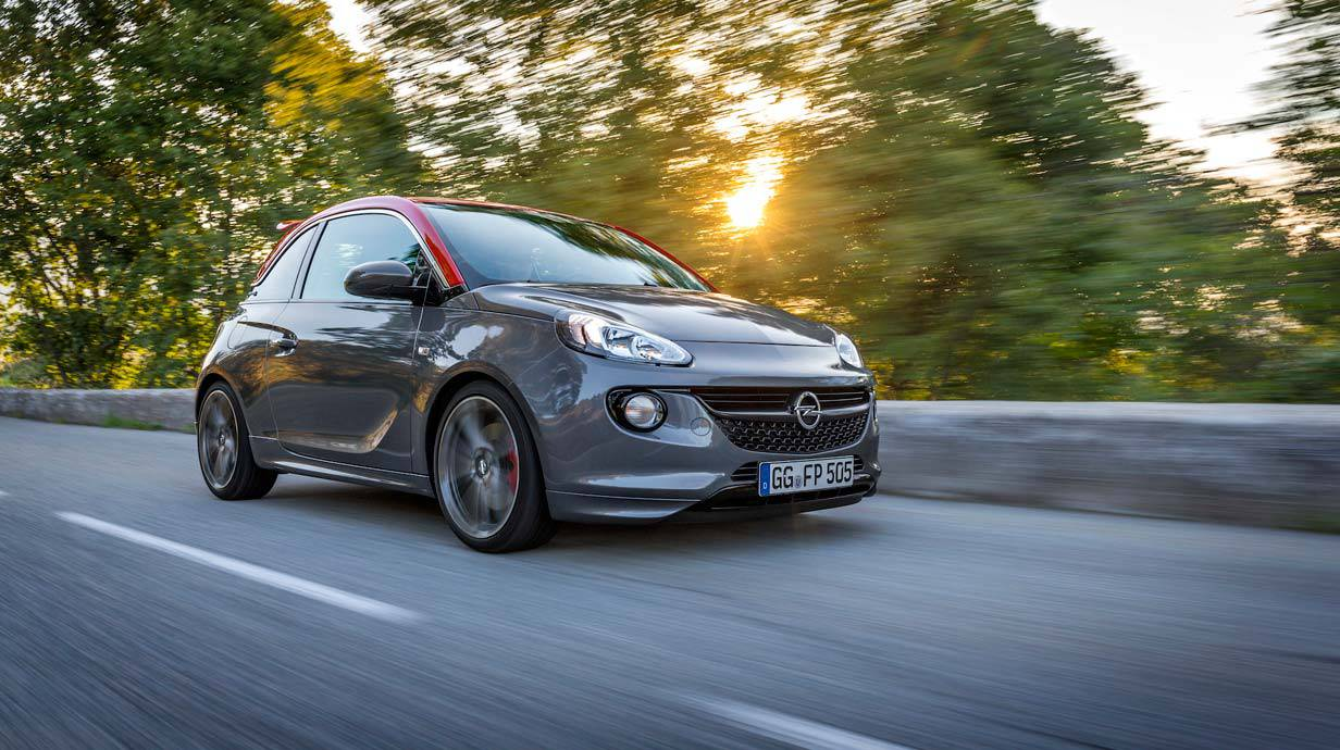 der opel adam s im test und wie viel er in sterreich. Black Bedroom Furniture Sets. Home Design Ideas