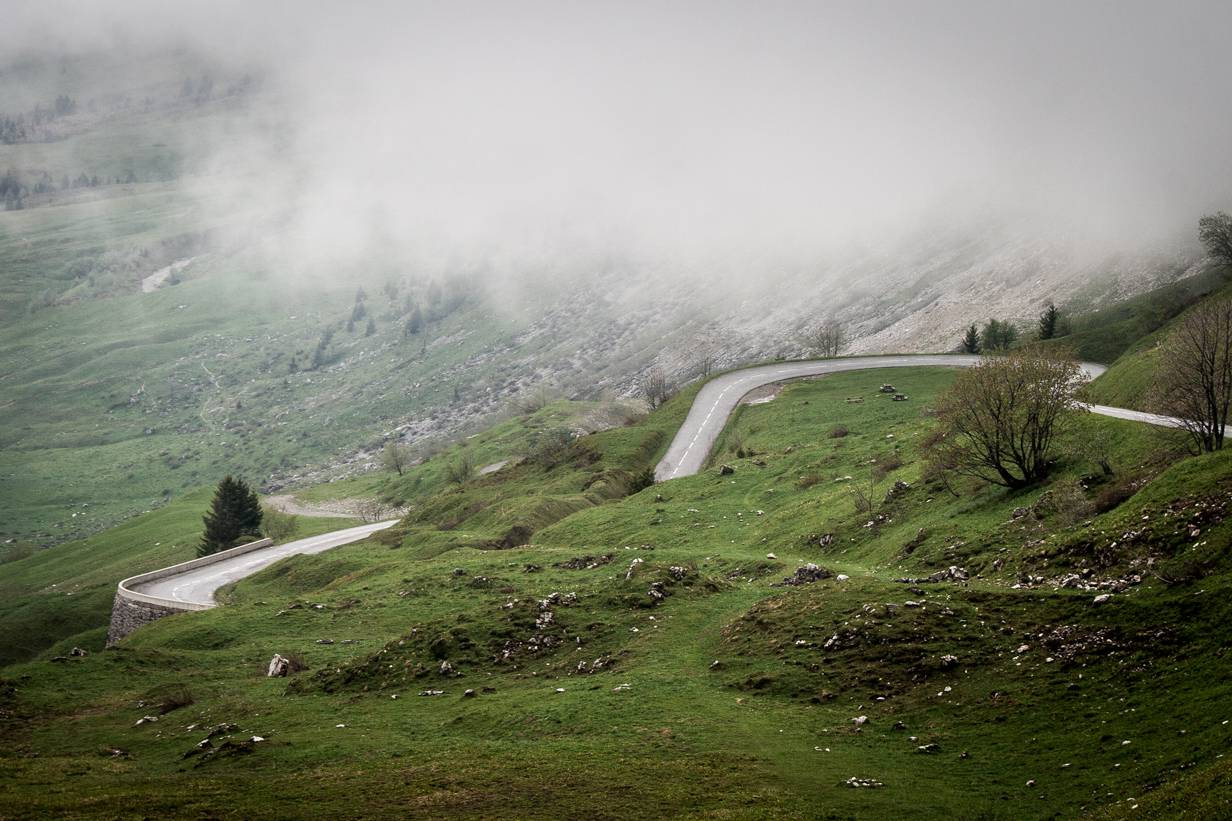 Route des Grandes Alpes,Kurven,Col de la Colombière