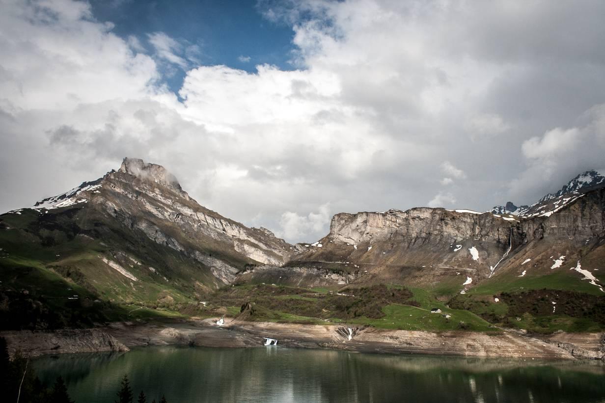 Lac de Roselend,Cormet de Roselend,Stausee,Beaufortain