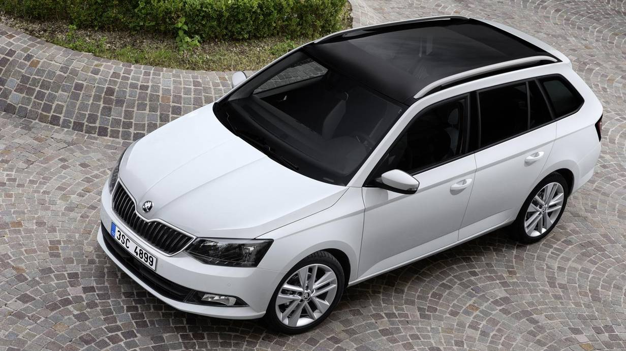 skoda fabia combi 2015 der vern nftigste. Black Bedroom Furniture Sets. Home Design Ideas
