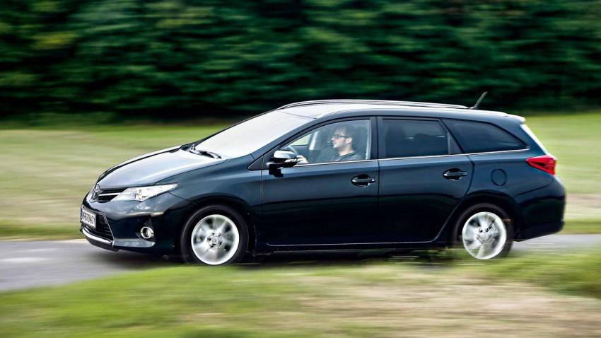 Lange läuft: Toyota Auris TS 1,4 D-4D Active