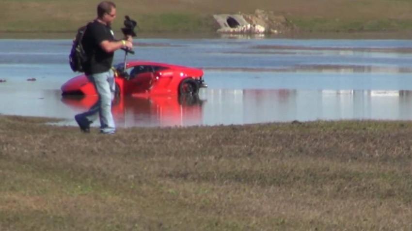 Der Fahrer überstand den Vorfall unverletzt.