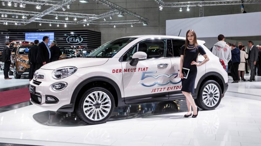 Fiat 500X / Vienna Autoshow 2015