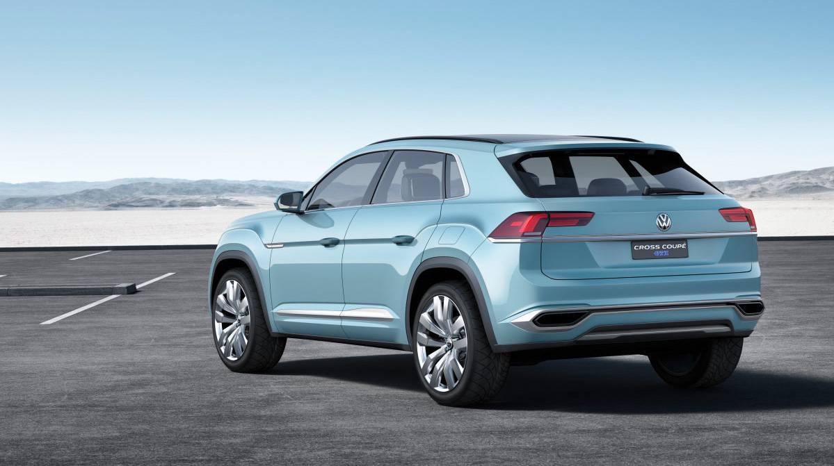 VW Cross Coupé GTE Studie: Go West!