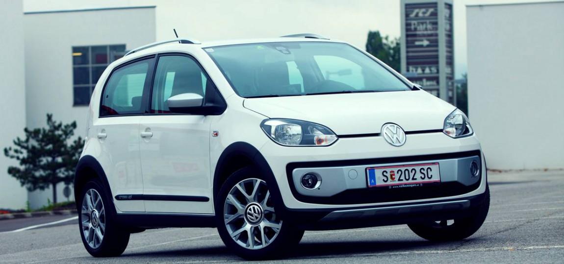 Der kleinste Gatsch: VW cross up!