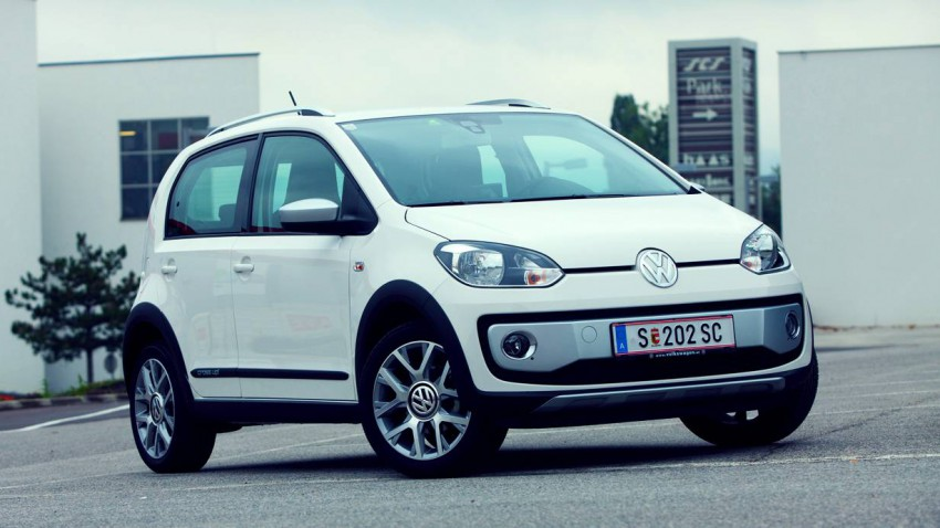 Der kleinste Gatsch: VW cross up!
