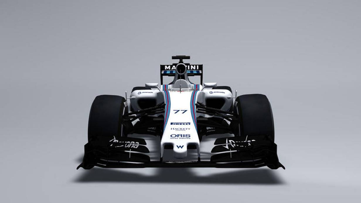 Die Nase des Williams FW37 fällt etwas dezenter aus, ansonsten ähnelt er dem FW36. © Bild: Williams