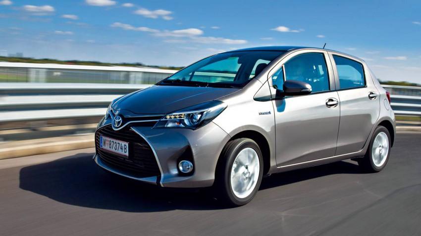Axte X: Toyota Yaris Hybrid