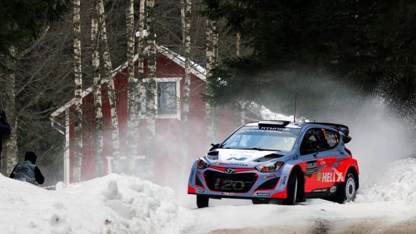 Schon wieder eine Überraschung bei der Rallye Schweden