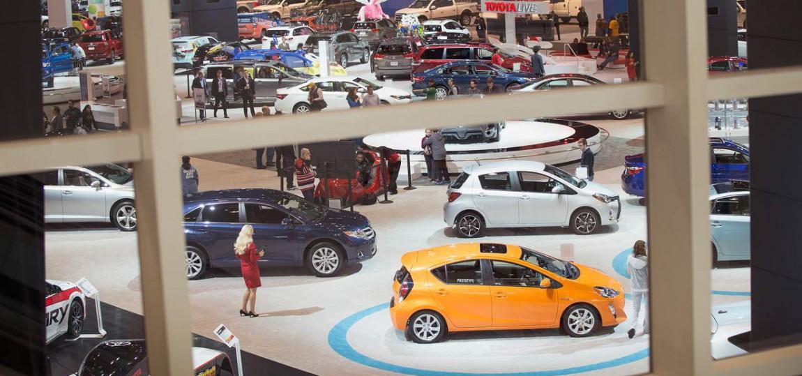 Kalender: Alle Autoshows 2015
