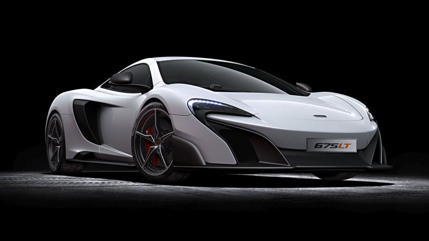 McLaren 675 LT Long Tail