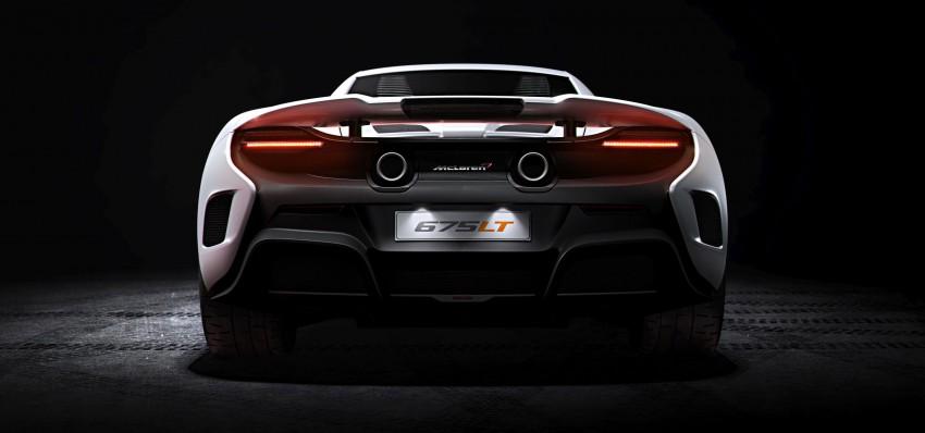 McLaren 675 LT Long Tail