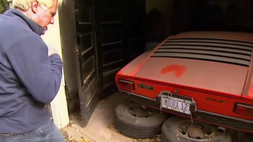 Lamborghini Miura versteckt sich 22 Jahre lang in einer Garage