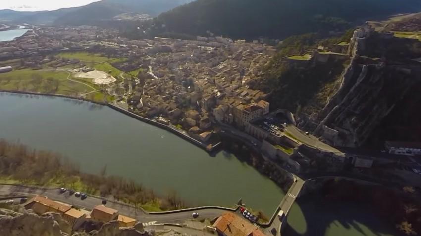Die Rallye Monte Carlo aus der Sicht einer Drohne