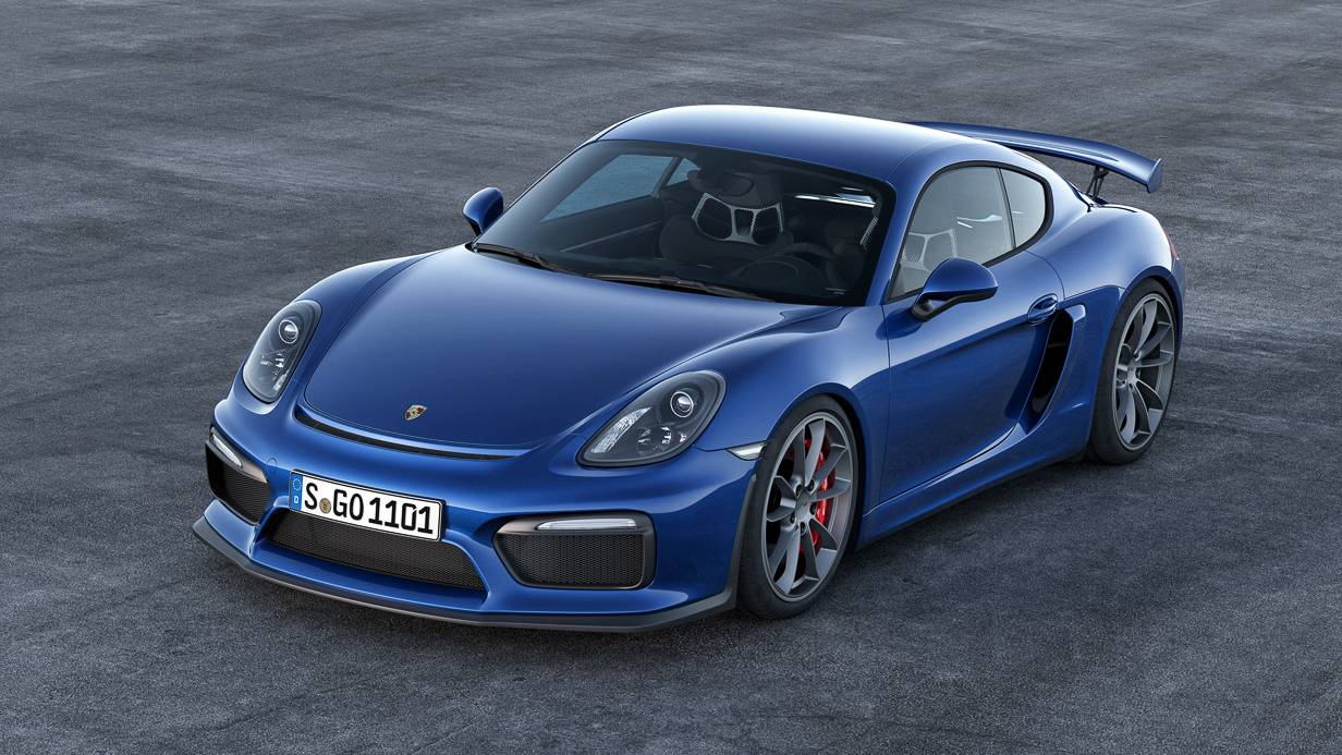 Porsche Cayman GT4 Wallpaper 3