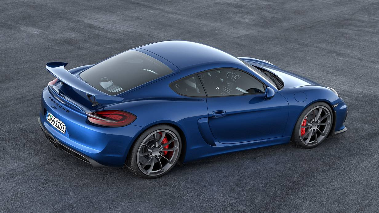 Porsche Cayman GT4 Wallpaper 4