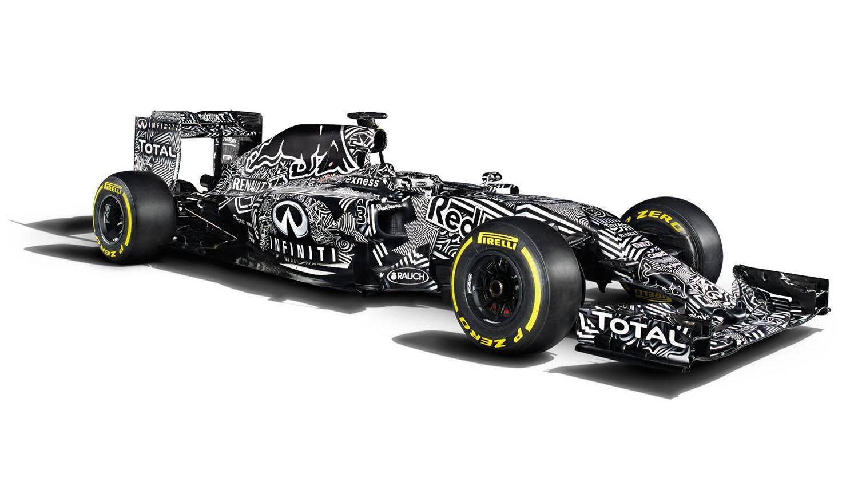 Der RB11 tarnt sich. © Infiniti Red Bull