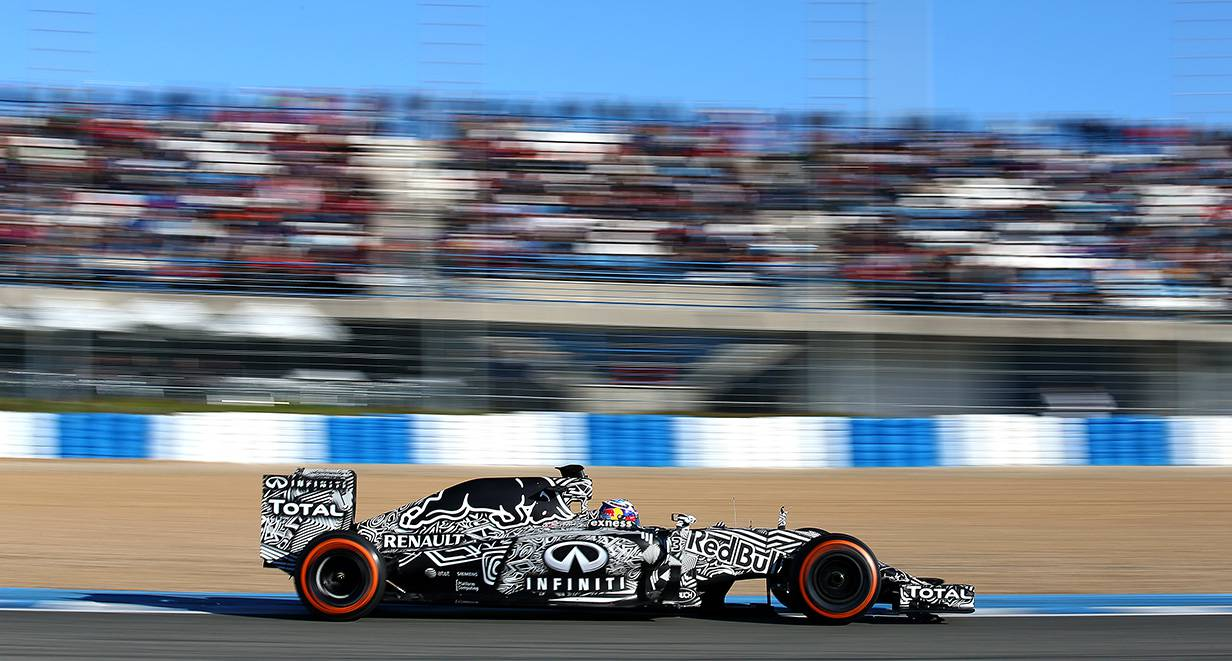 Ricciardo im RB11 © Mark Thompson/Getty Images