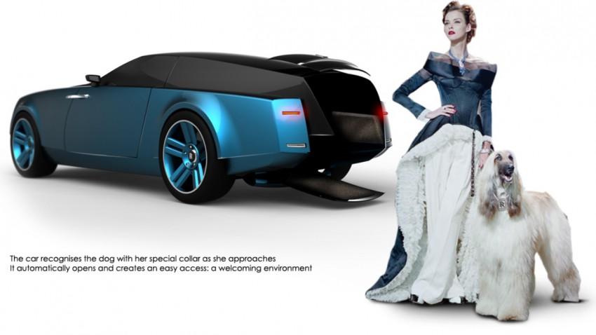 Endlich: Ein Rolls Royce für Hunde!