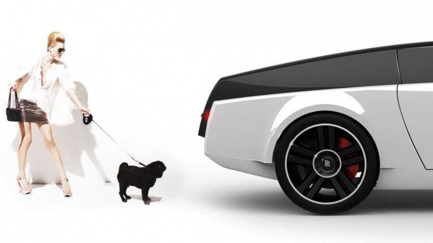 endlich ein rolls royce f r hunde. Black Bedroom Furniture Sets. Home Design Ideas