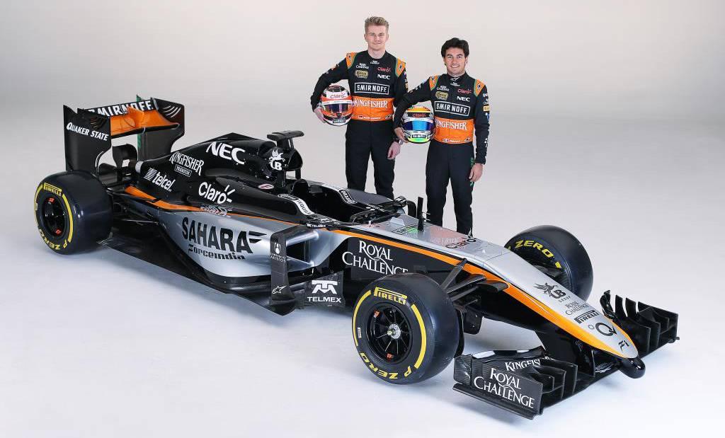Hülkenber und Perez. © Bild: Force India