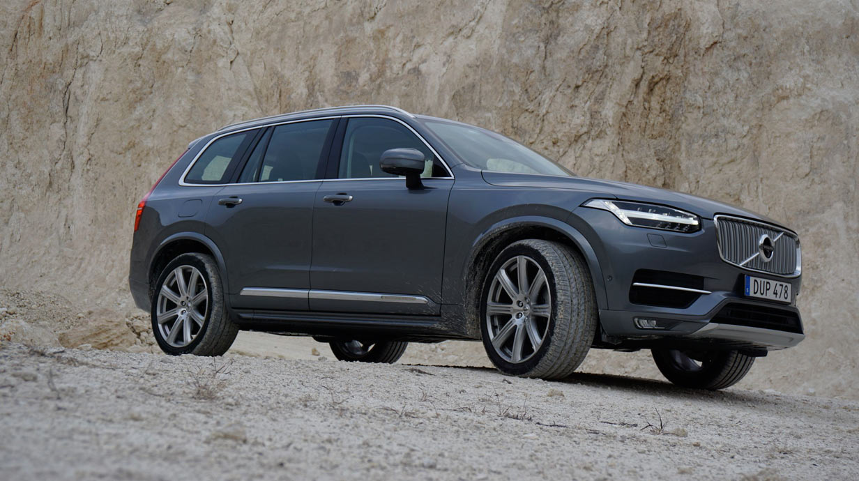 der neue volvo xc90. Black Bedroom Furniture Sets. Home Design Ideas