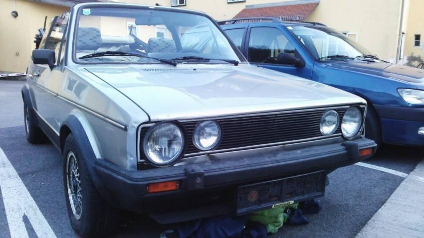 VW Golf Cabrio (1986)