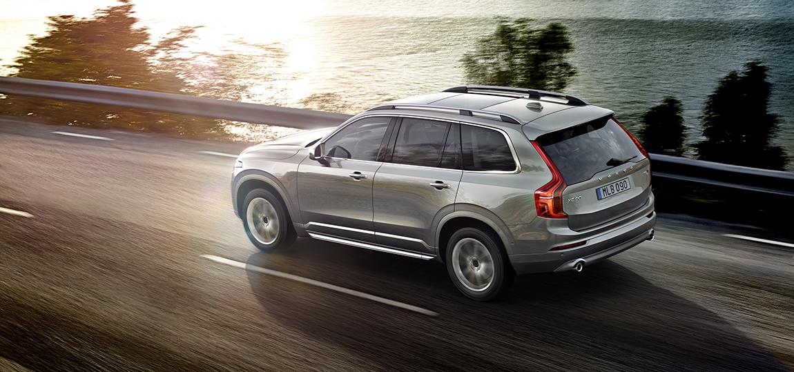 Der Volvo XC90 ist quasi DAS Auto für den US-Markt.