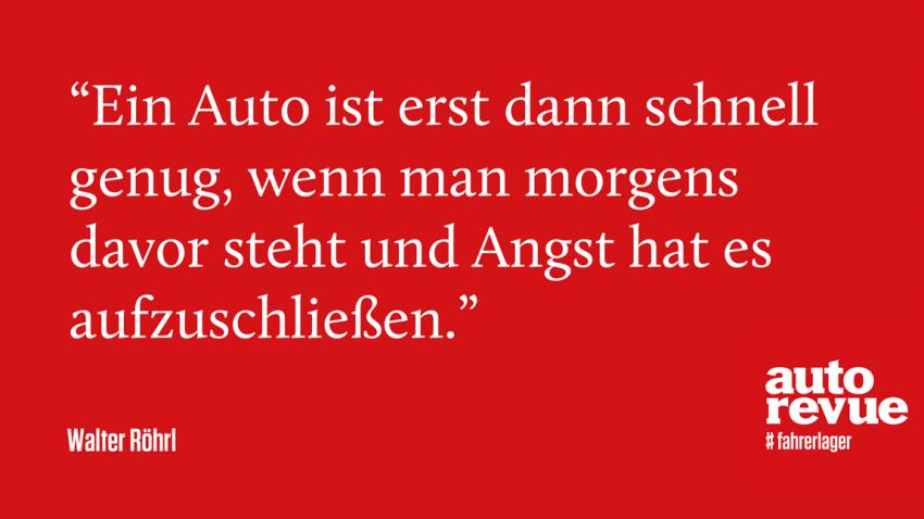 17 geniale Sprüche von Walter Röhrl