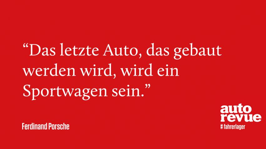 8 geniale Sprüche von Ferdinand Porsche
