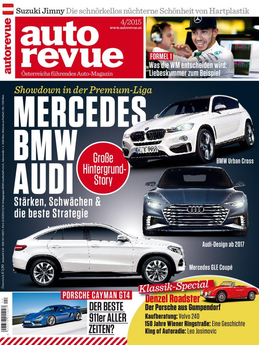 Autorevue Magazin: Ausgabe 4/2015