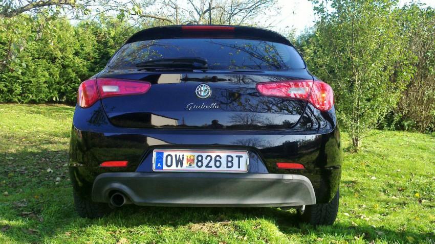 Alfa Romeo giulietta tb heck