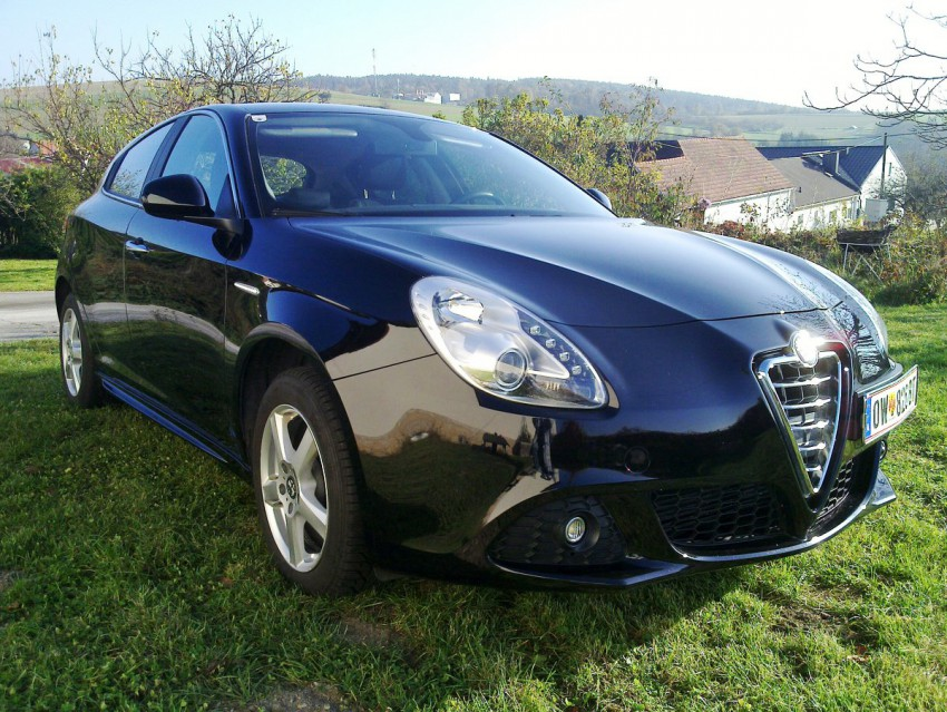 Alfa Romeo giulietta tb vorne front seite