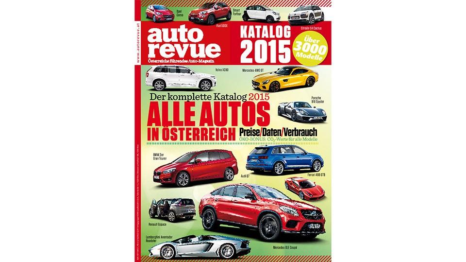 Autorevue Katalog 2015 - alle Autos, die 2015 in Österreich erhältlichen waren