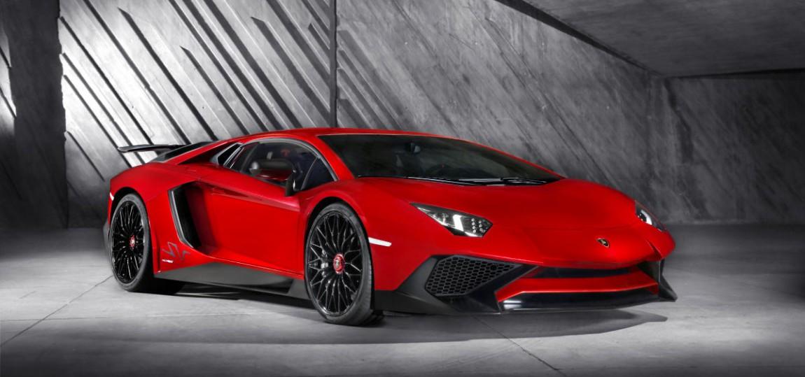 Lamborghini Aventador LP 750-4 SV front vorne seite