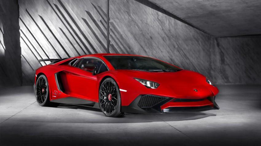 Lamborghini as Lamborghini can: Aventador LP 750-4 SV