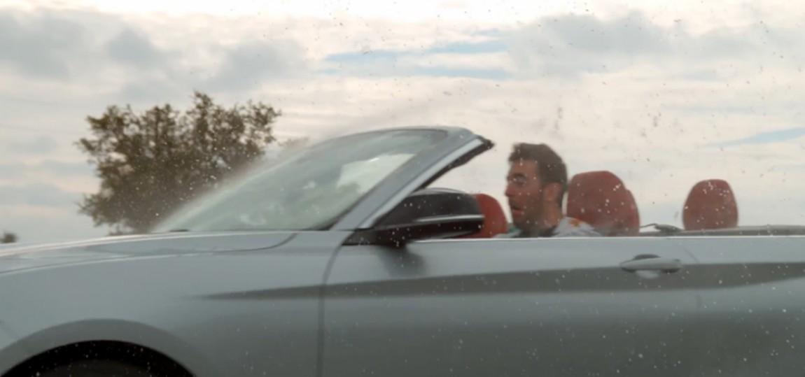 Wird man im Cabrio bei Regen nass?