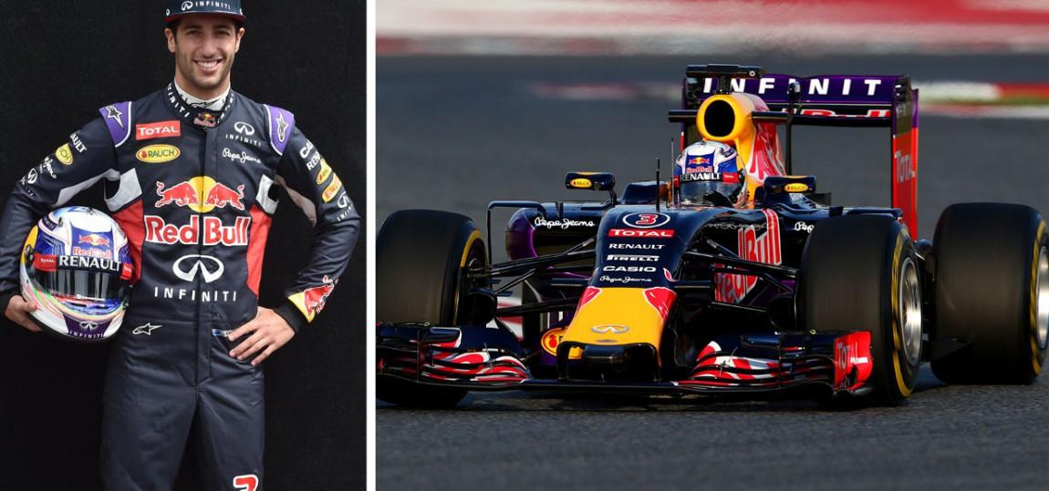 Formel 1 Steckbrief: Daniel Ricciardo