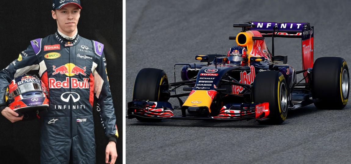 Formel 1 Steckbrief: Daniil Kvyat