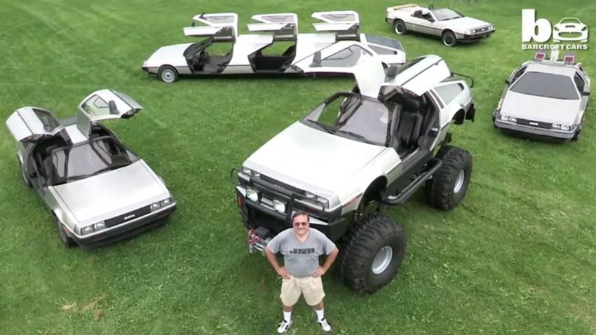 Rich Weissensel hat eine große Leidenschaft. DeLorean