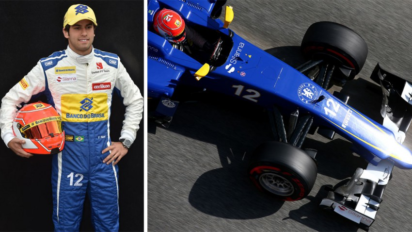 Formel 1 Steckbrief: Felipe Nasr