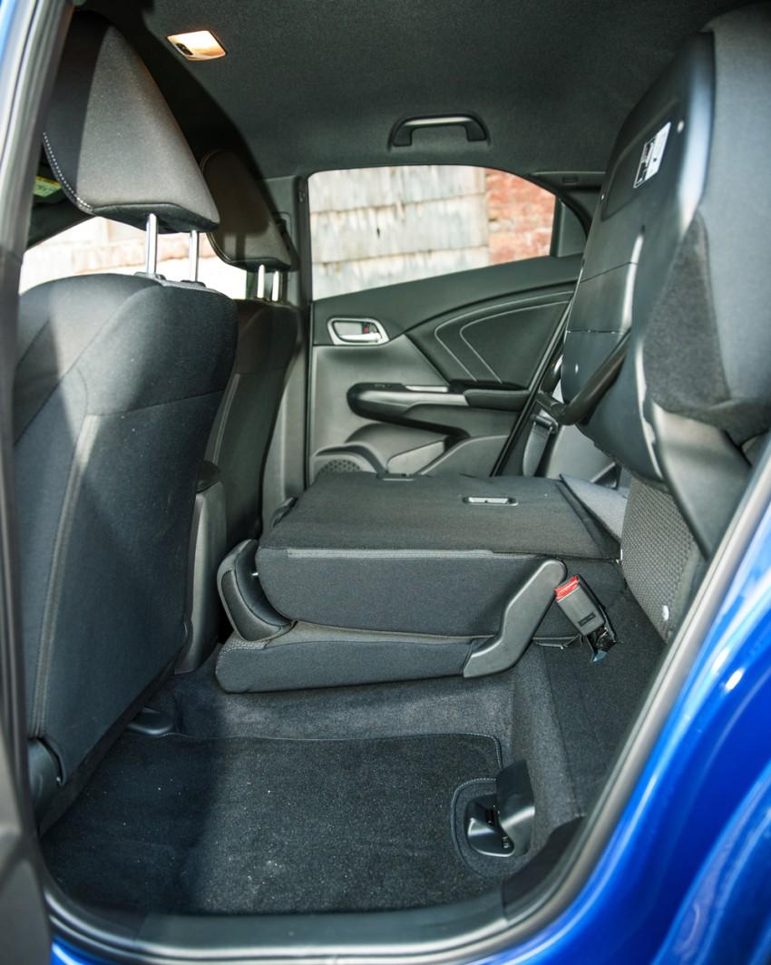Honda Civic 1,6 i-DTEC Sport Edition 2015 blau rückbank innen innenraum