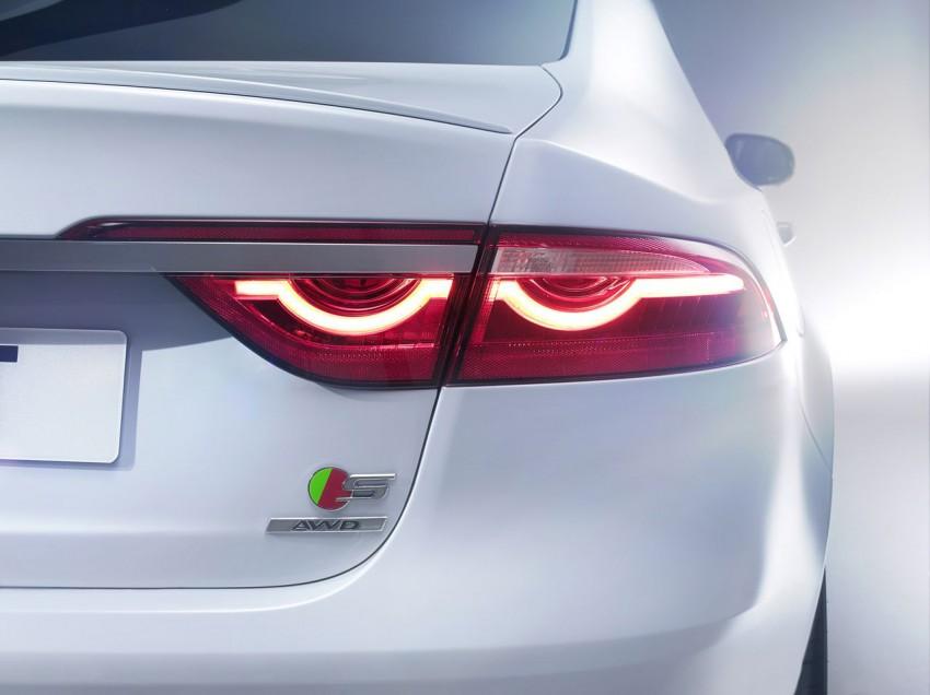 Jaguar XF S 2015 emblem heckleuchte kofferraum hinten