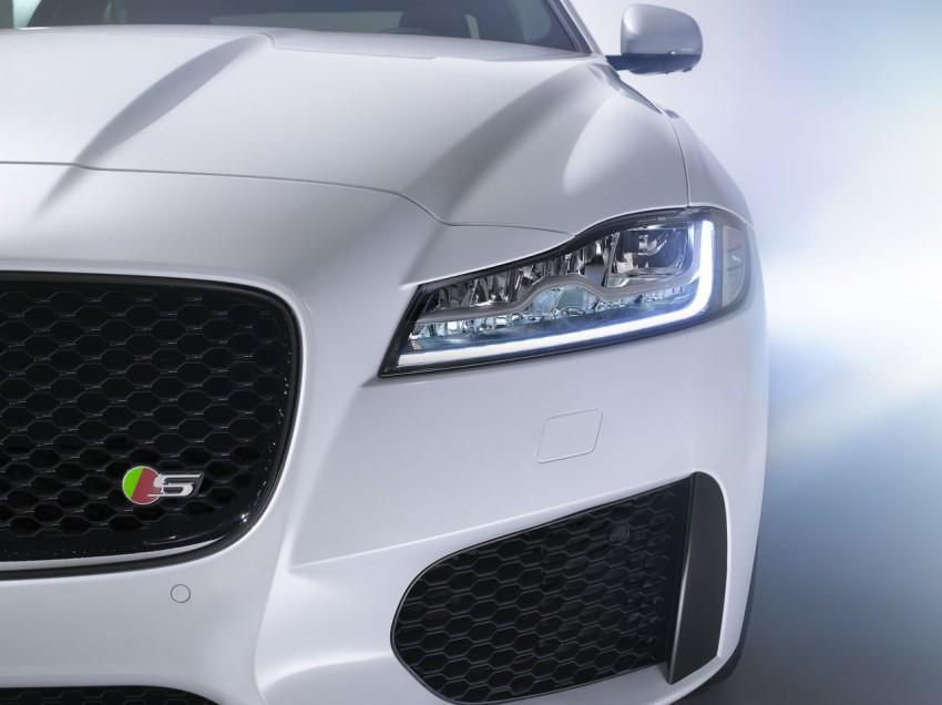 Jaguar XF S 2015 scheinwerfer emblem frontschürze