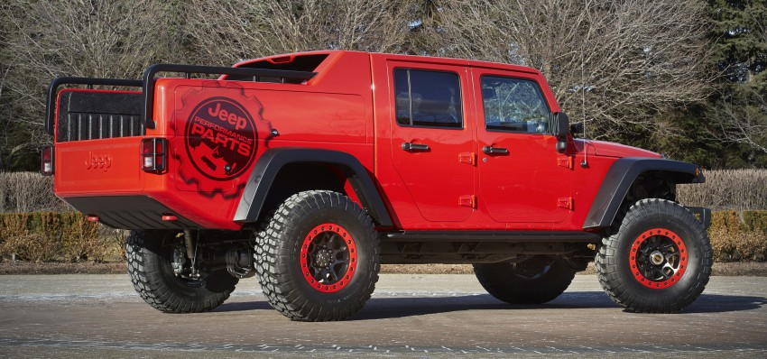 Jeep® Wrangler Red Rock Responder Concept